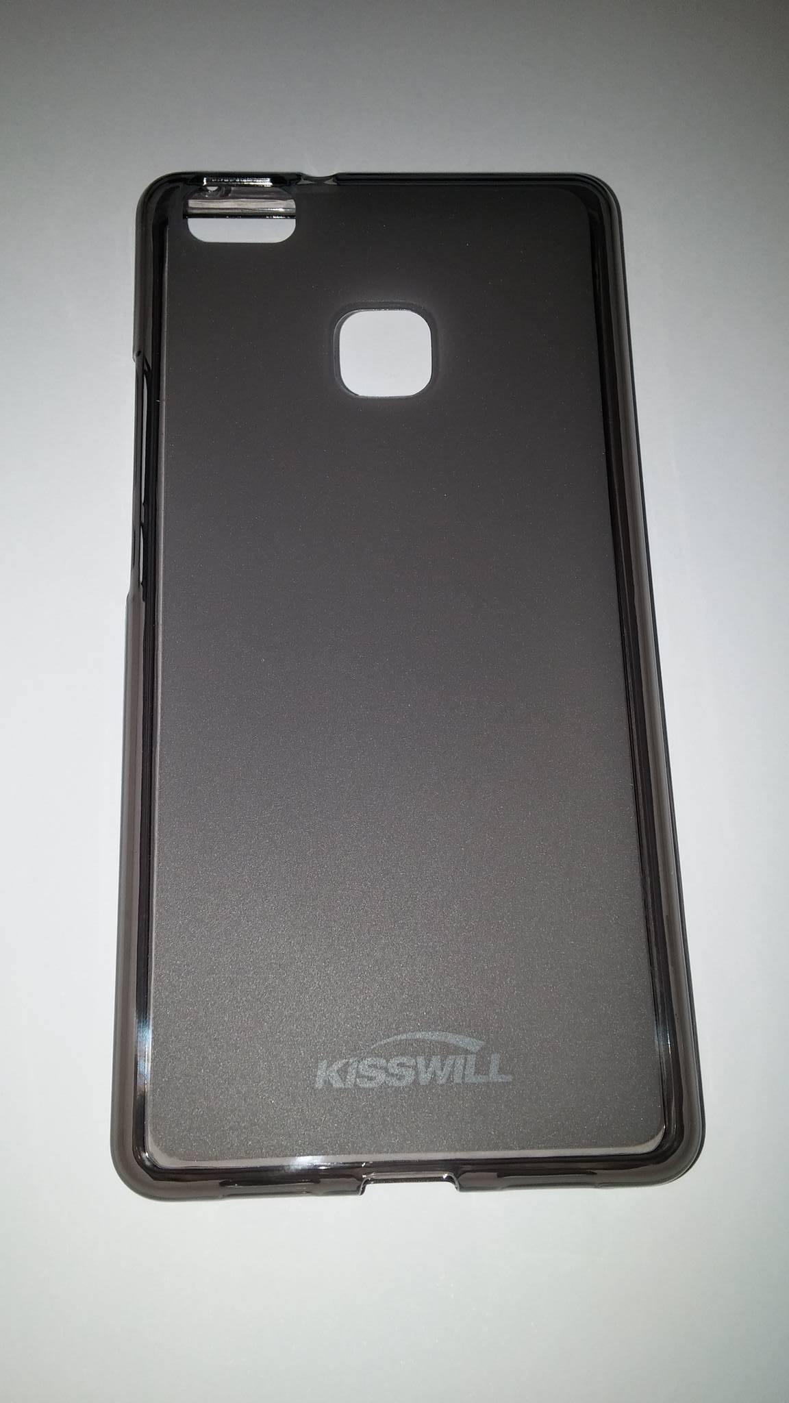 Silikonové pouzdro Kisswill pro mobilní telefon Huawei P9 LITE tmavé (Silikonový kryt či obal na mobil Huawei P9 LITE)