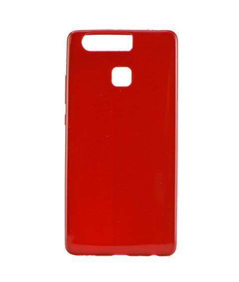 Silikonové pouzdro SUPER SLIM pro mobilní telefon Huawei P9 ČERVENÉ (Silikonový kryt či obal na mobil Huawei P9)