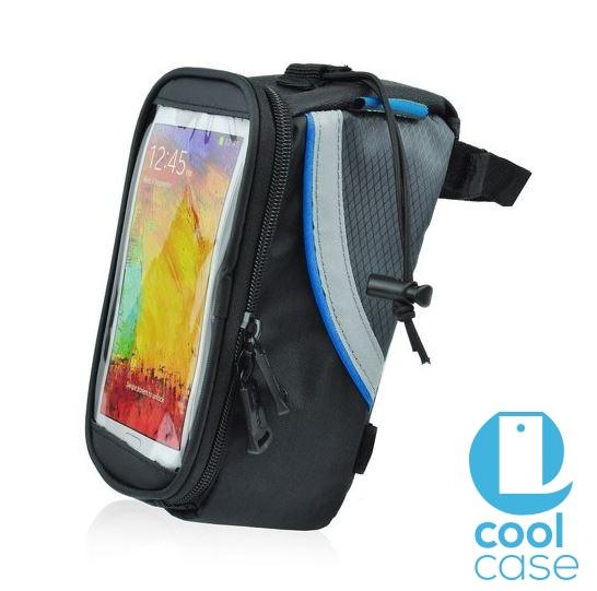 Držák na kolo ROSWHEEL pro mobilní telefony s displejem do 4,8 palců, šedo černé (Držák na jízdní kolo pro mobilní telefony pro vášnivé cyklisty)
