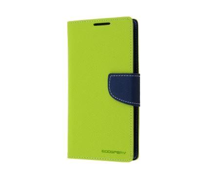Flipové pouzdro na mobil FANCY BOOK Huawei G8 / GX8 ZELENÉ (Flipové knížkové vyklápěcí pouzdro na mobilní telefon Huawei G8 / GX8)