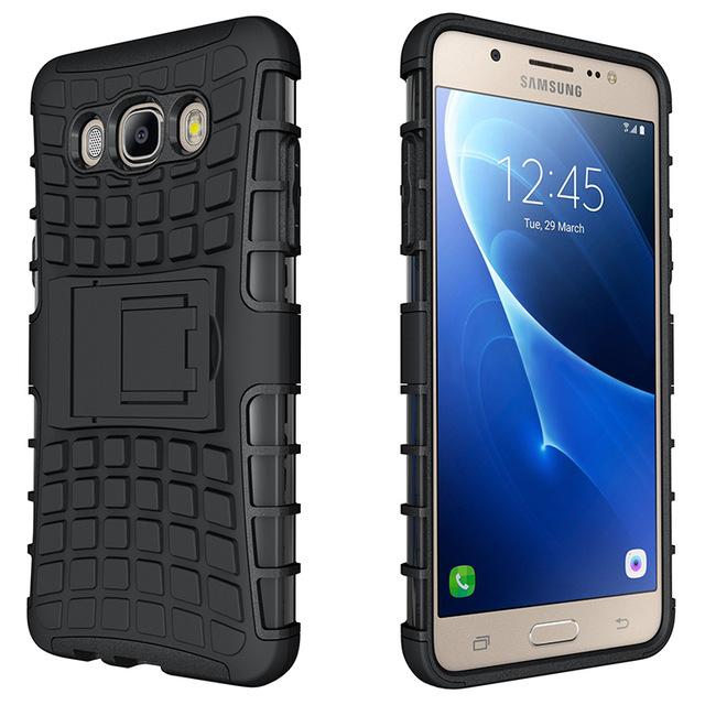 Odolné pouzdro PANZER CASE na mobilní telefon Samsung Galaxy J5 (2016) Černé