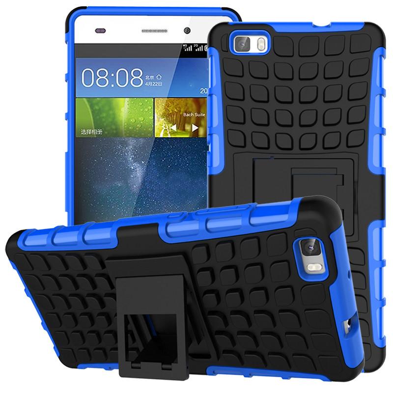 Odolné pouzdro PANZER CASE na mobilní telefon Huawei P8 Lite Modré
