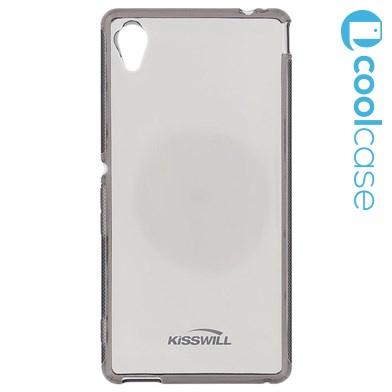 Silikonové pouzdro Kisswill pro mobilní telefon Sony Xperia E5 tmavé (Silikonový kryt či obal na mobil Sony Xperia E5)