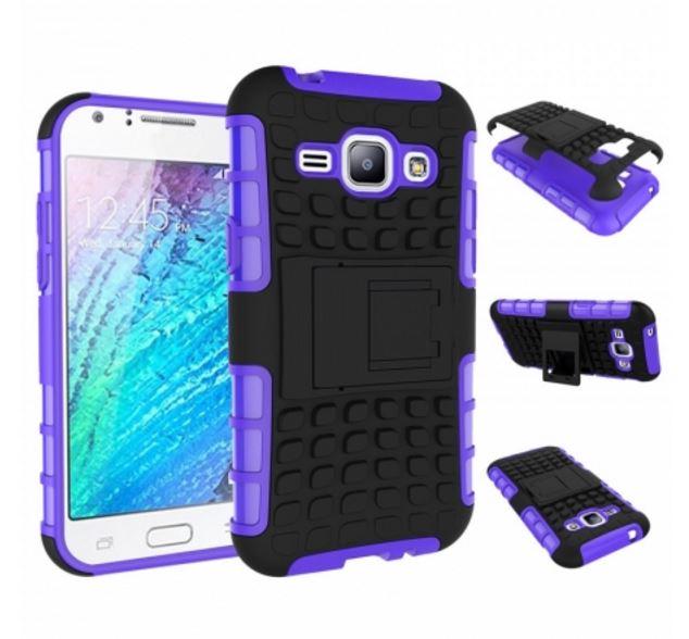 Odolné pouzdro PANZER CASE na mobilní telefon Samsung Galaxy S3 Neo Fialové (Odolný kryt či obal na mobil Samsung Galaxy S III se stojánkem)