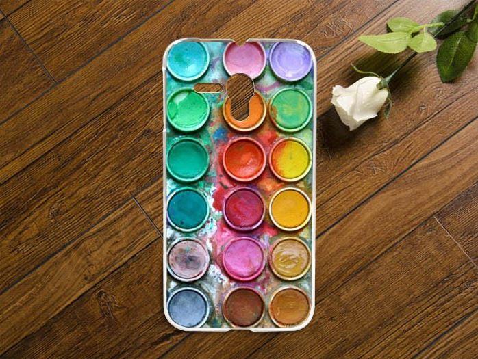 Pouzdro na mobilní telefon Alcatel One Touch Pop D5 Paleta barev (Kryt či obal na mobilní telefon Alcatel One Touch Pop D5)