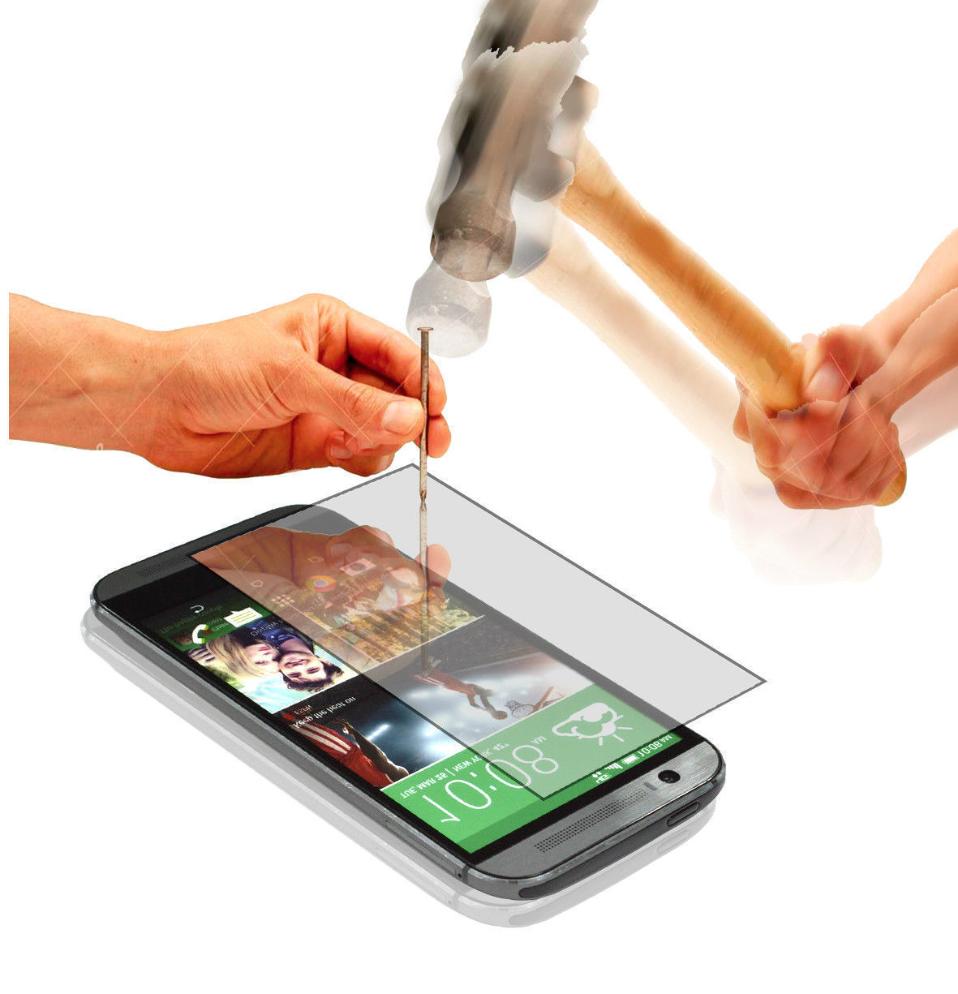 Ochranné tvrzené temperované sklo na displej pro HTC Desire 610 (Tvrzenné ochranné sklo HTC Desire 610)