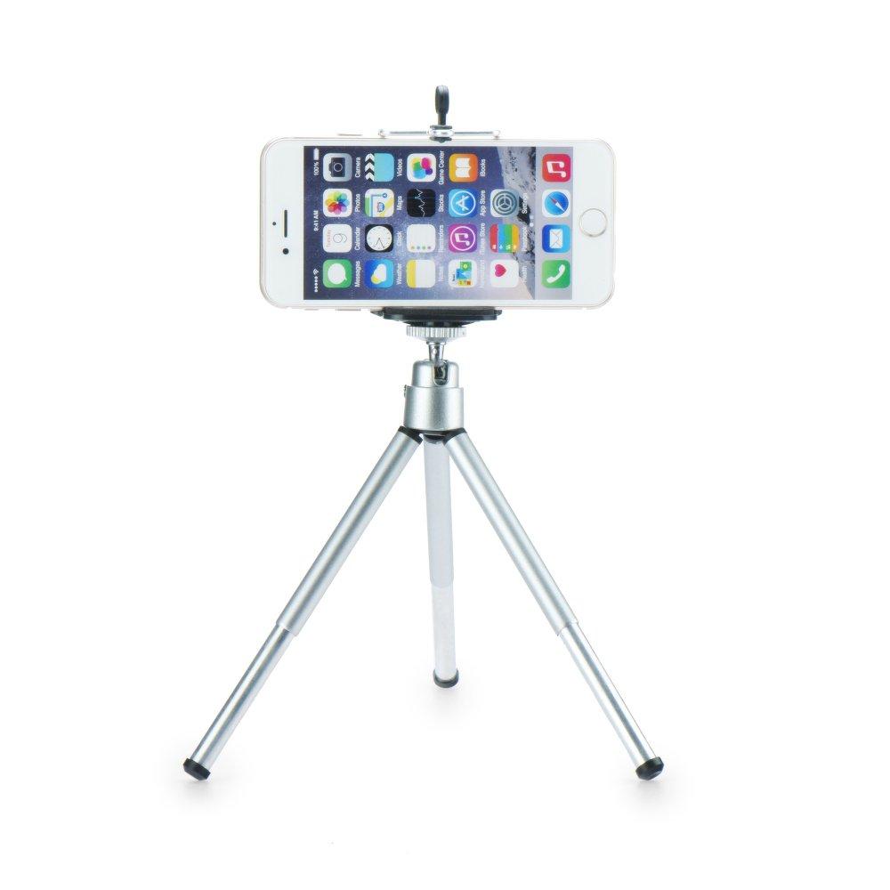 Stativ a stojánek na mobil 360 TRIPOD rotatable stand tripod Silver (Stojánek a stativ na mobilní telefon)