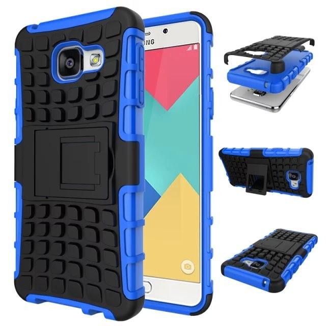 Odolné pouzdro PANZER CASE na mobilní telefon Samsung Galaxy A5 (2016) Modré