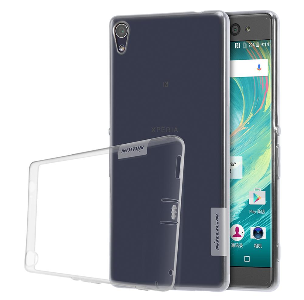 Silikonové pouzdro Ultra Thin 0,5 mmna mobil Sony Xperia XA Ultra Čiré průhledné (Silikonový kryt či obal na mobilní telefon v průhledném provedení Sony Xperia XA ULTRA)