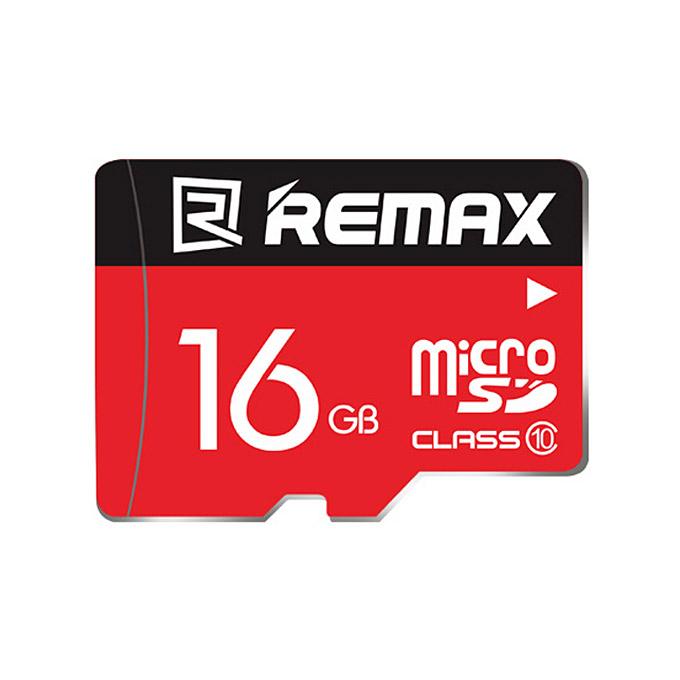 Paměťová karta micro SDHC 16GB REMAX Class 10 (Paměťová karta micro SDHC od firmy REMAX s kapacitou 16GB)