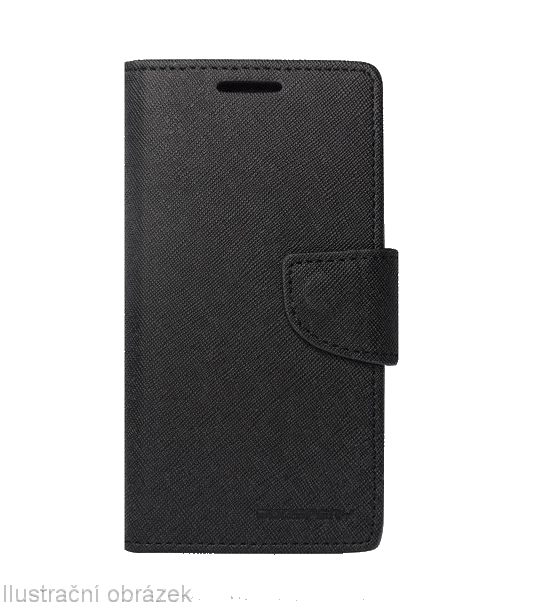 Flipové pouzdro na mobil FANCY BOOK Xiaomi Mi4c / Mi4i Černé (Flipové knížkové vyklápěcí pouzdro na mobilní telefon Xiaomi MI4C)