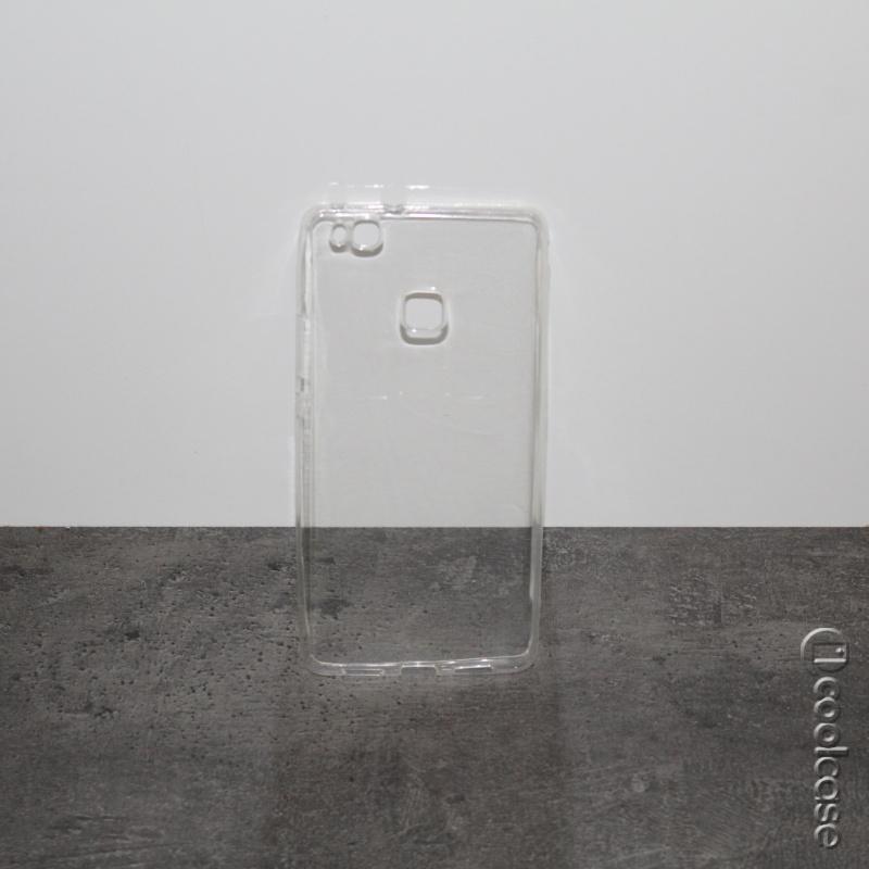 Silikonové pouzdro CASE pro mobilní telefon Huawei P9 Lite čiré (Silikonový kryt či obal na mobil Huawei P9 LITE)