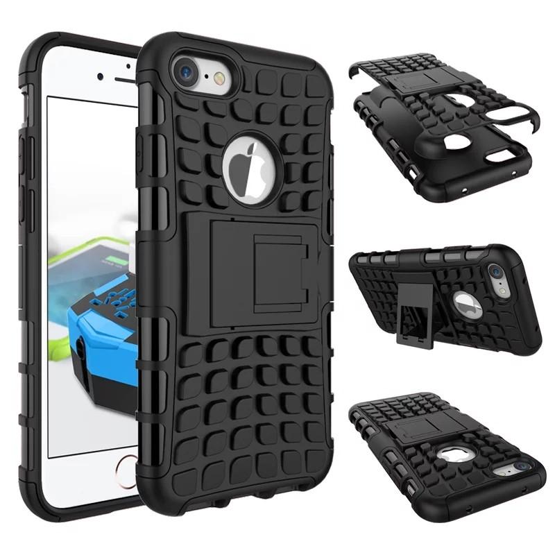 Odolné pouzdro PANZER CASE na mobilní telefon Apple iPhone 7 / 8 černé