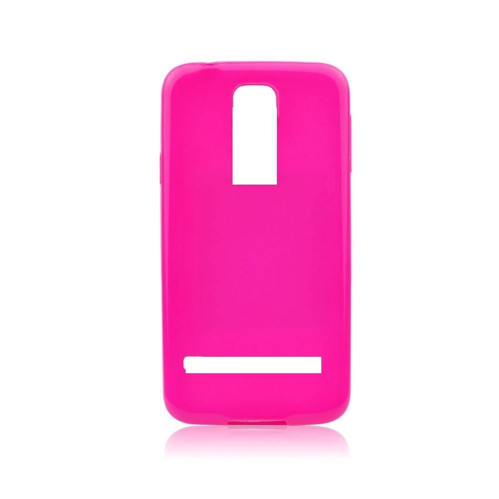 Silikonové pouzdro JELLY CASE pro mobilní telefon Lenovo Vibe K5 Note - RŮŽOVÉ (Silikonový kryt či obal na mobil Lenovo Vibe K5 Note)
