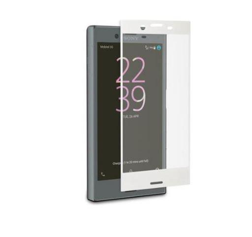 Ochranné tvrzené temperované sklo TMP2169CW Sony Xperia XZ BÍLÉ (Tvrzenné ochranné sklo Sony Xperia XZ)