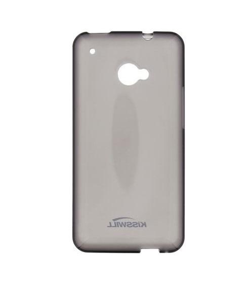 Silikonové pouzdro Kisswill pro mobilní telefon Vodafone Smart ULTRA 7 Tmavé (Silikonový kryt či obal na mobil Vodafone Smart ULTRA 7)