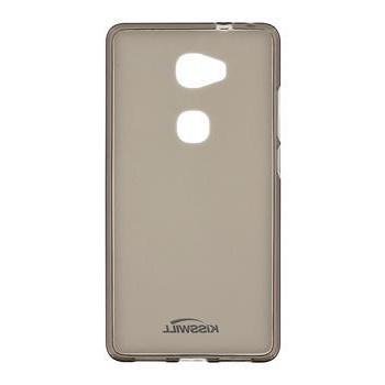 Silikonové pouzdro Kisswill pro mobilní telefon Vodafone Smart PLATINUM 7 Tmavé (Silikonový kryt či obal na mobil Vodafone Smart PLATINUM 7)