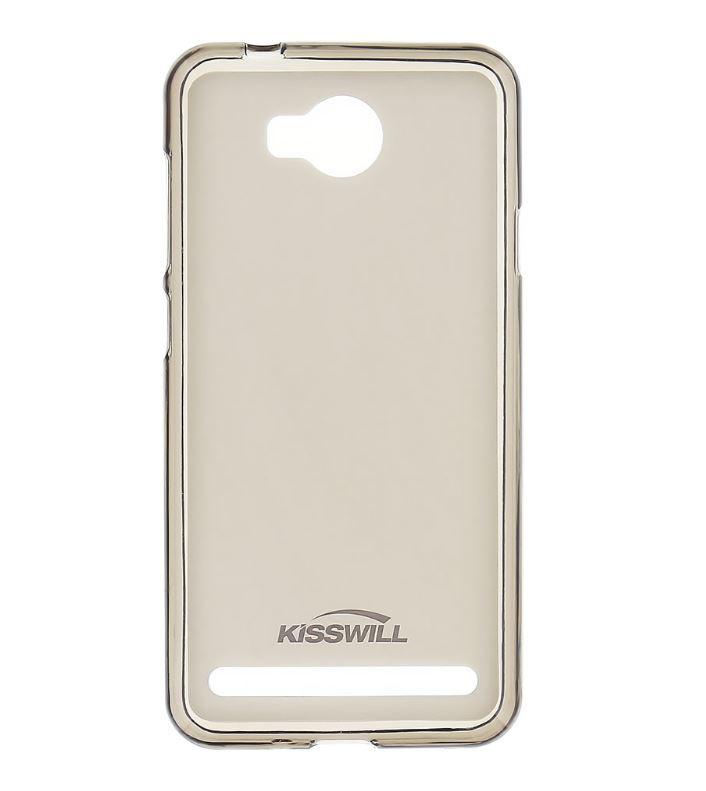 Silikonové pouzdro Kisswill pro mobilní telefon Huawei Y3 II tmavé (Silikonový kryt či obal na mobil Huawei Y3 II)