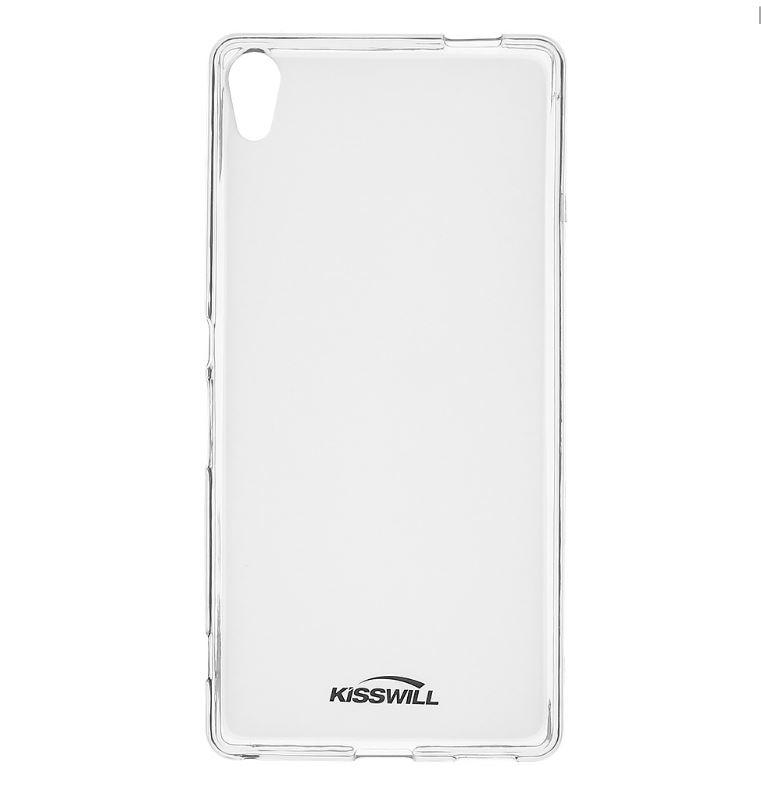 Silikonové pouzdro Kisswill pro mobilní telefon Sony Xperia XA Ultra Světlé (Silikonový kryt či obal na mobil Sony Xperia XA Ultra)