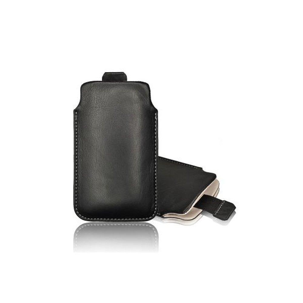 Univerzální kapsičkové pouzdro pro mobilní telefony SLIM DELUXE S5610, Nokia 515 (Univerzální pouzdro s vysouváním typu kapsička pro telefony Samsung S5610 / S5611 , Nokia 206 / 515 / 225 / 215 / 222)