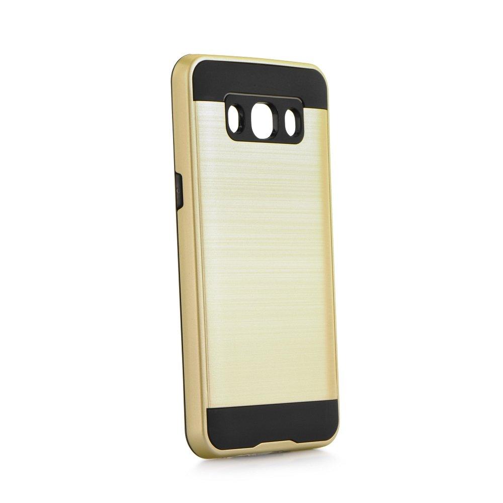 Odolné pouzdro MOTO CASE Panzer na mobil Samsung Galaxy J5 2016 ZLATAVÉ (Odolný kryt či obal na mobil Samsung Galaxy J5 2016)