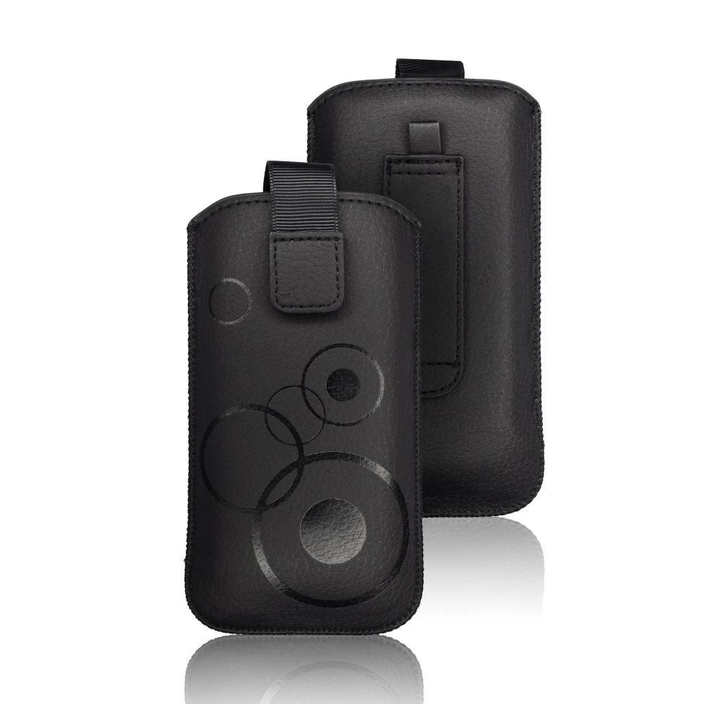 Univerzální kapsičkové pouzdro DEKO pro mobilní telefony 136,6 x 72,25 x 9,15 (Univerzální pouzdro s vysouváním typu kapsička pro telefony SAM Galaxy S3 (I9300)/ Galaxy S4 (I9500)/ IPHO 6/ Galaxy A3)