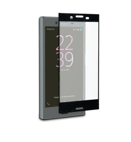 Ochranné tvrzené sklo ROXFIT Sony Xperia X Compact na celý displej - černé (Tvrzenné ochranné sklo Sony Xperia X Compact)
