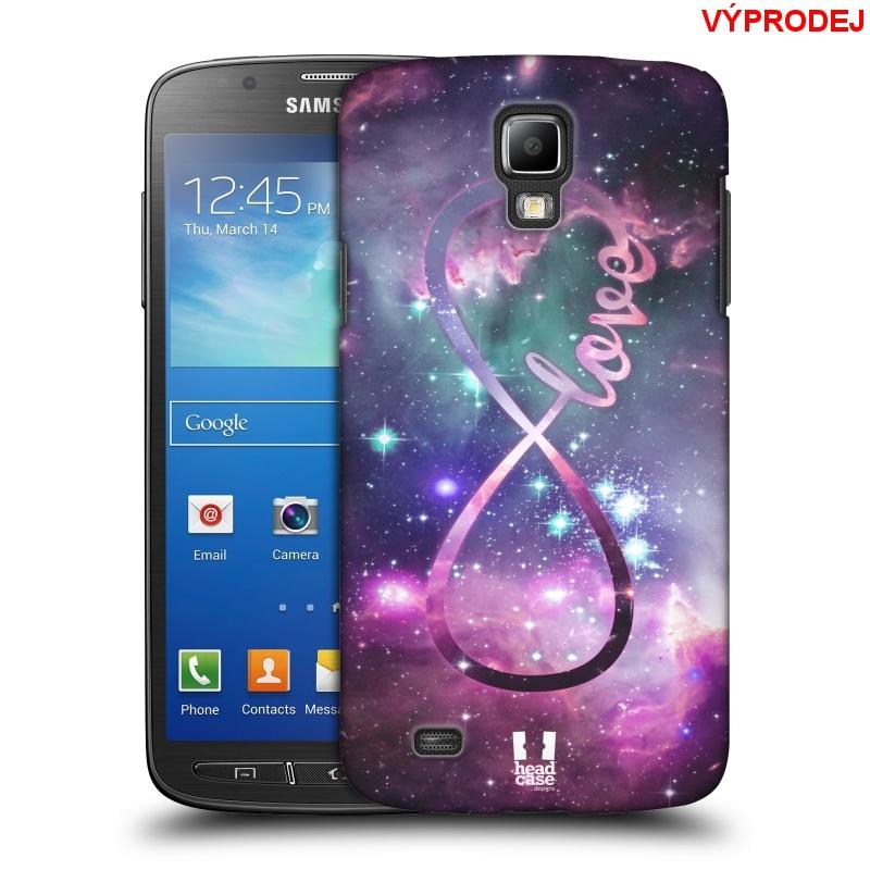 Plastové pouzdro na mobil Samsung Galaxy S4 Active HEAD CASE NEKONEČNÁ LÁSKA (Kryt či obal na mobilní telefon Samsung Galaxy S4 Active GT-i9295)