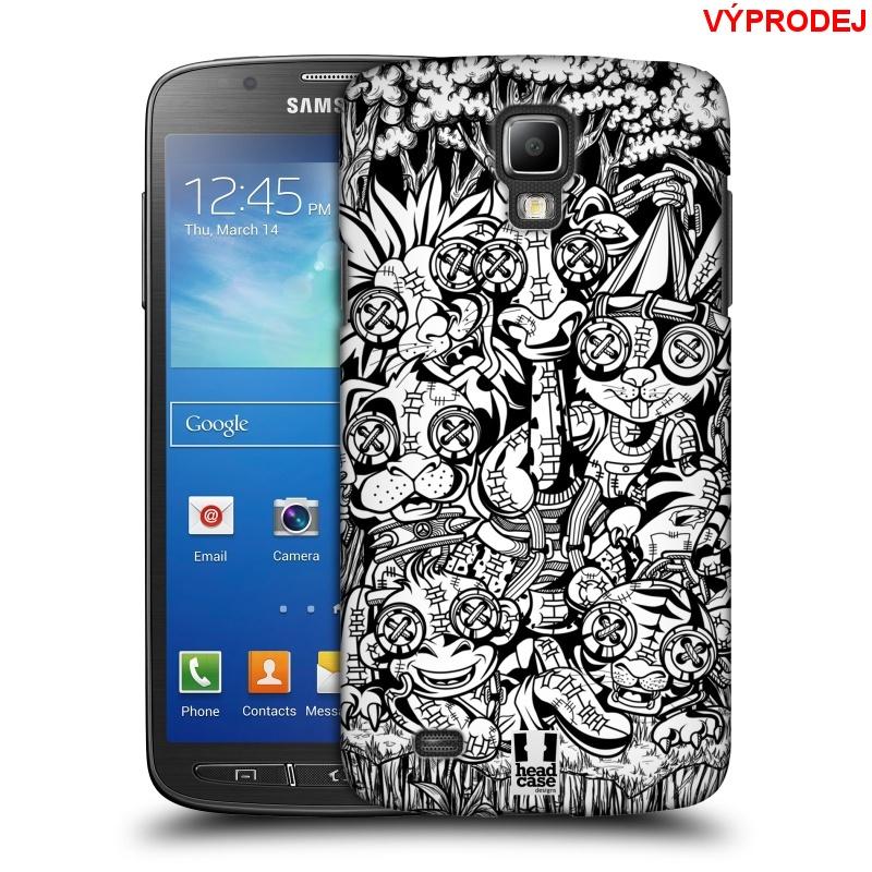 Plastové pouzdro na mobil Samsung Galaxy S4 Active HEAD CASE VOODOO KRÁLÍČCI (Kryt či obal na mobilní telefon Samsung Galaxy S4 Active GT-i9295)