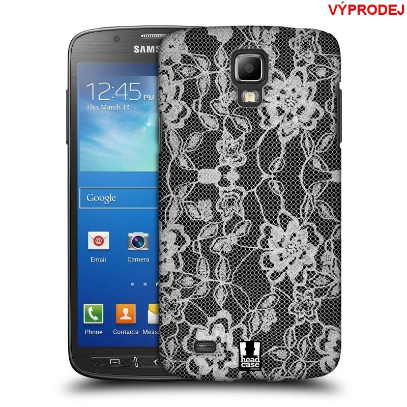 Plastové pouzdro na mobil Samsung Galaxy S4 Active HEAD CASE LEAFY KRAJKA (Kryt či obal na mobilní telefon Samsung Galaxy S4 Active GT-i9295)