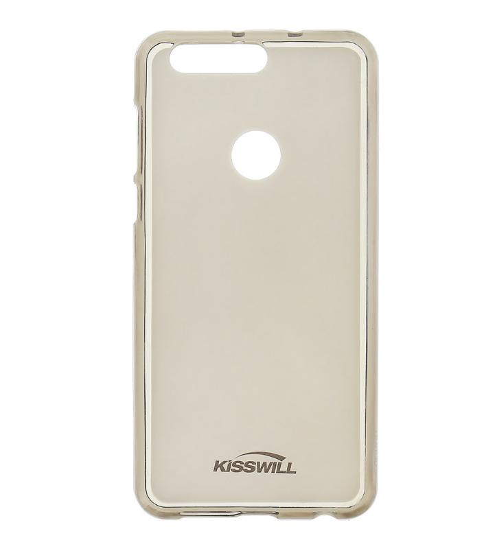 Silikonové pouzdro KISSWILL na mobil Honor 8 tmavé (Silikonový kryt či obal na mobil Huawei Honor 8)
