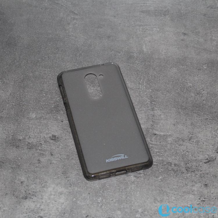 Silikonové pouzdro KISSWILL na mobil Honor 6X tmavé (Silikonový kryt či obal na mobil Huawei Honor 6X)