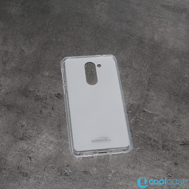 Silikonové pouzdro KISSWILL na mobil Honor 6X Světlé (Silikonový kryt či obal na mobil Huawei Honor 6X)