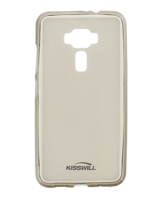 Silikonové pouzdro Kisswill pro mobilní telefon Asus ZenFone 3 Max ZC520TL Tmavé (Silikonový kryt či obal na mobil Asus ZenFone 3 Max ZC520TL)