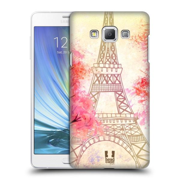 Plastové pouzdro na mobil Samsung Galaxy A7 HEAD CASE PARIS TREES (Kryt či obal na mobilní telefon Samsung Galaxy A7 A700)