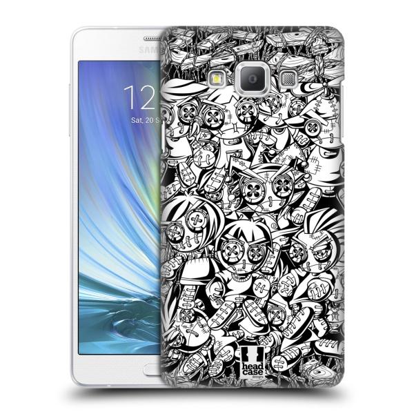Plastové pouzdro na mobil Samsung Galaxy A7 HEAD CASE VOODOO PUNK (Kryt či obal na mobilní telefon Samsung Galaxy A7 A700)