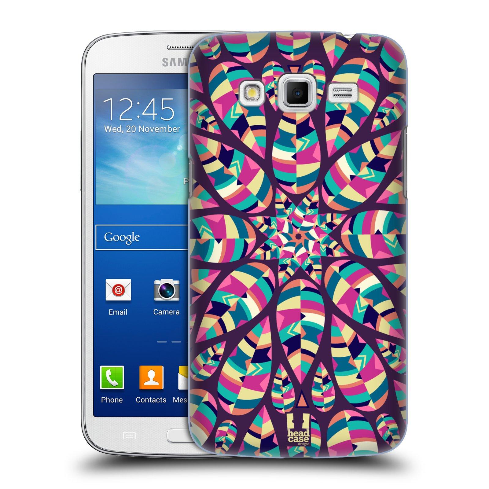 Plastové pouzdro na mobil Samsung Galaxy Grand 2 HEAD CASE SHINE (Kryt či obal na mobilní telefon Samsung Galaxy Grand 2 LTE SM-G7105 a Samsung Galaxy Grand 2 Duos SM-G7102)