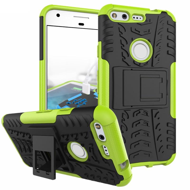 Odolné pouzdro PANZER CASE NEO na mobilní telefon Google Pixel Zelené