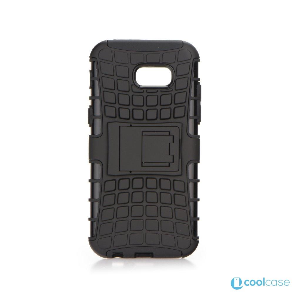 Odolné pouzdro PANZER CASE na mobilní telefon Samsung Galaxy A3 (2017) Černé