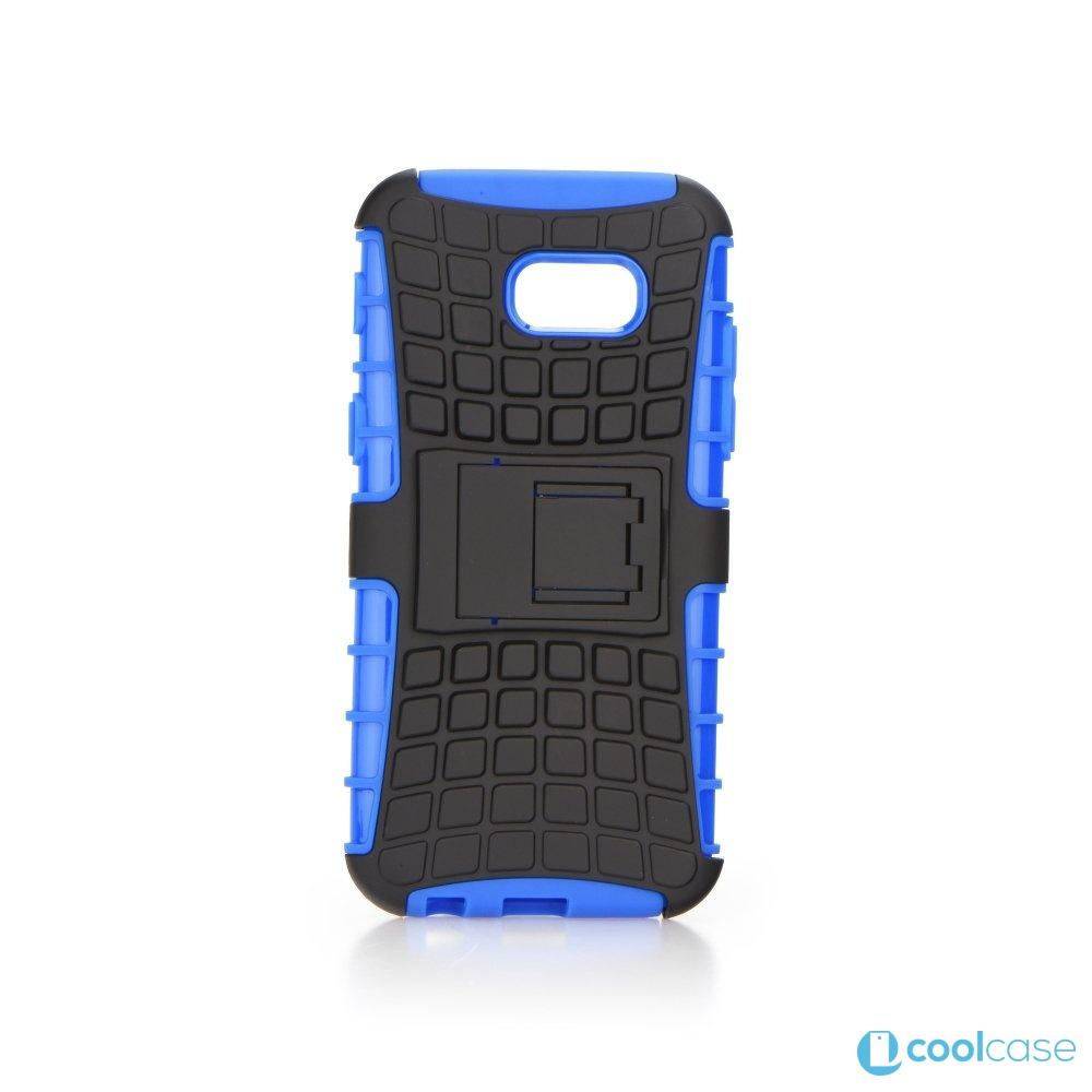 Odolné pouzdro PANZER CASE na mobilní telefon Samsung Galaxy A3 (2017) Modré