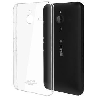 Silikonové pouzdro na mobil Microsoft Lumia 640 XL Ultra Thin 0,3 mm Čiré (Silikonový kryt či obal na mobilní telefon v průhledném provedení Microsoft Lumia 640 XL)