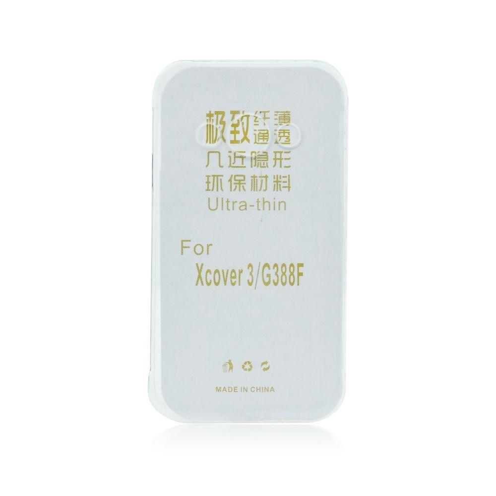 Silikonové pouzdro Ultra Thin 0,3 mm pro mobil Samsung Galaxy Xcover 3 čiré (Silikonový kryt či obal na mobil Samsung Galaxy Xcover 3 G388F)