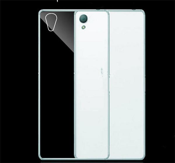 Silikonové pouzdro na mobil Sony Xperia M4 aqua Ultra Thin 0,3 mm Čiré (Silikonový kryt či obal na mobilní telefon Sony Xperia M4 Aqua)