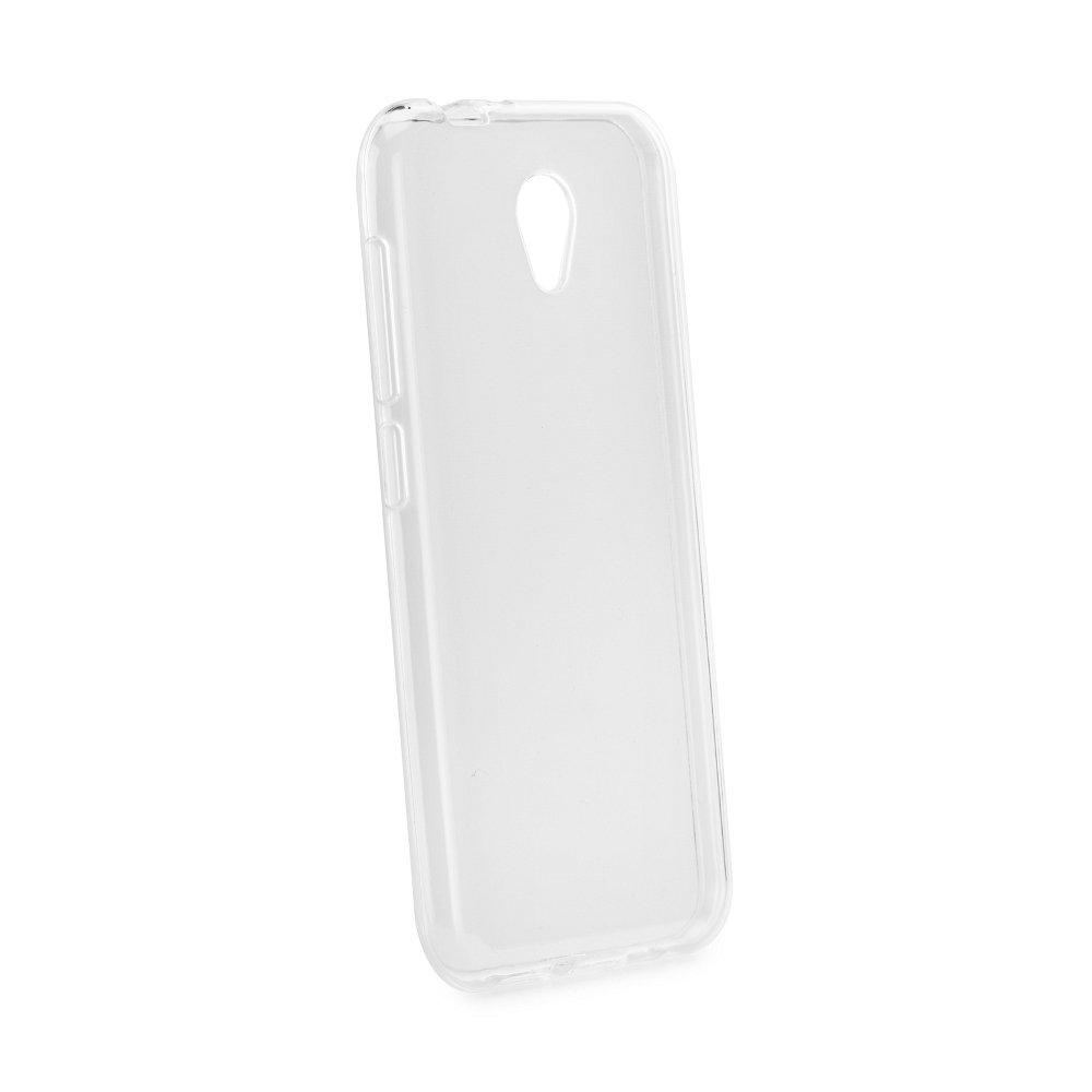 Silikonové pouzdro Ultra Thin 0,5 mm na mobil Vodafone Smart Prime 7 průhledné (Silikonový kryt či obal na mobilní telefon v průhledném provedení Vodafone Smart Prime 7)