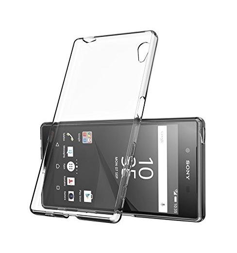 Silikonové pouzdro na mobil Sony Xperia E5 - Ultra Thin 0,3 mm čiré (Silikonový kryt či obal na mobilní telefon v průhledném provedení Sony Xperia E5 F3311)