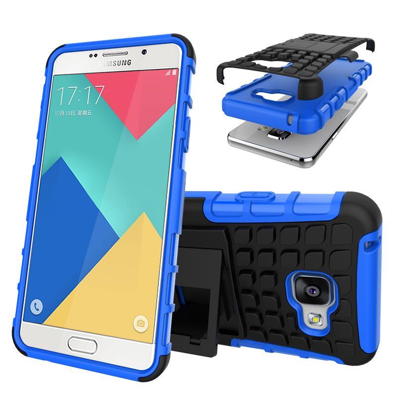 Odolné pouzdro PANZER CASE na mobilní telefon Samsung Galaxy A3 (2016) Modré