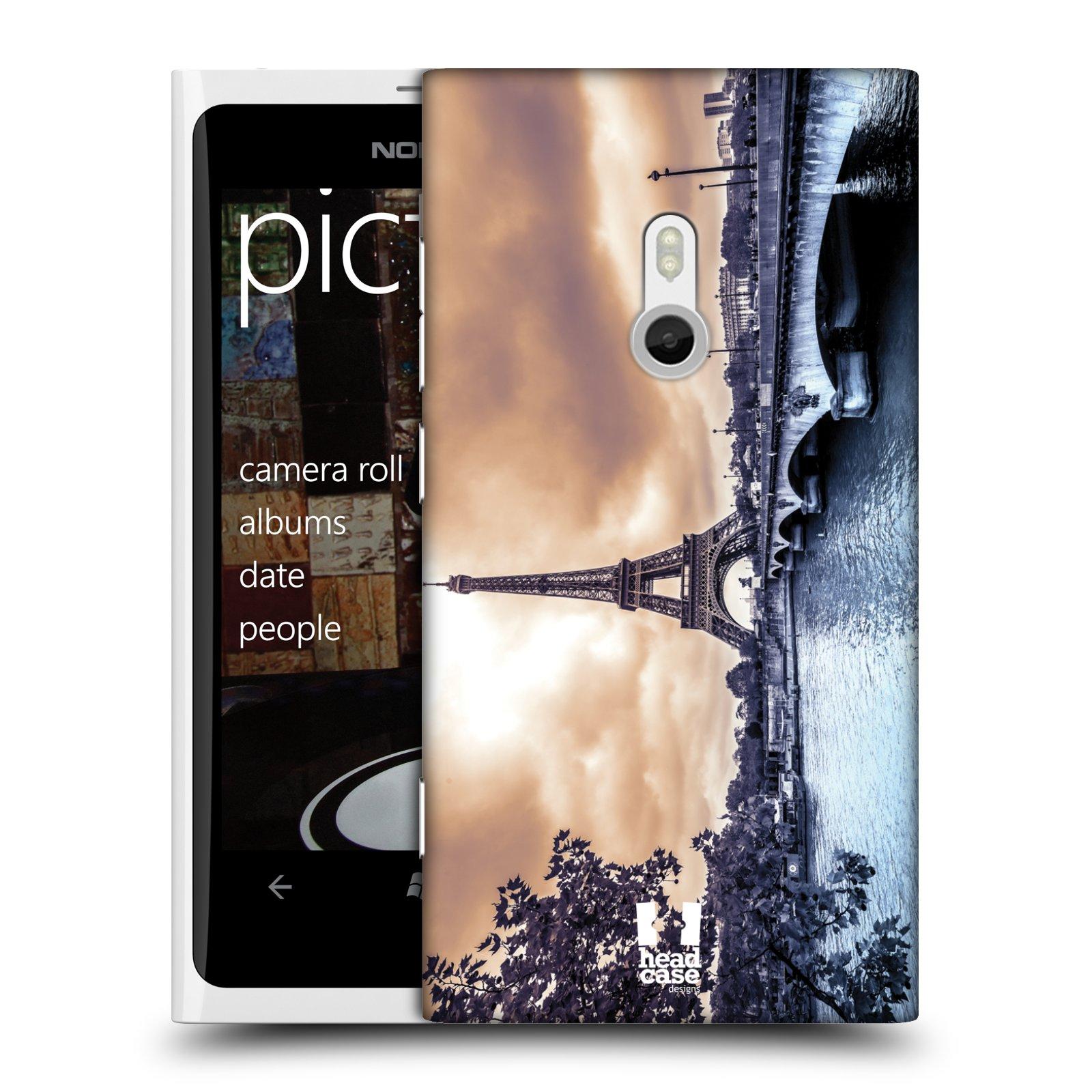 Plastové pouzdro na mobil Nokia Lumia 800 HEAD CASE PAŘÍŽ (Kryt či obal na mobilní telefon Nokia Lumia 800)