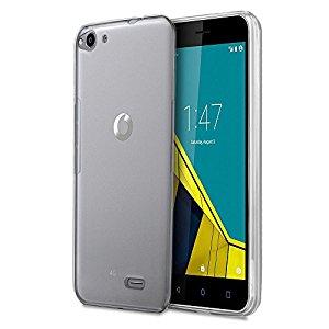 Silikonové pouzdro Ultra Thin 0,5 mm na mobil Vodafone Smart Ultra 6, světlé (Silikonový kryt či obal na mobilní telefon v průhledném provedení Vodafone Smart Ultra 6)