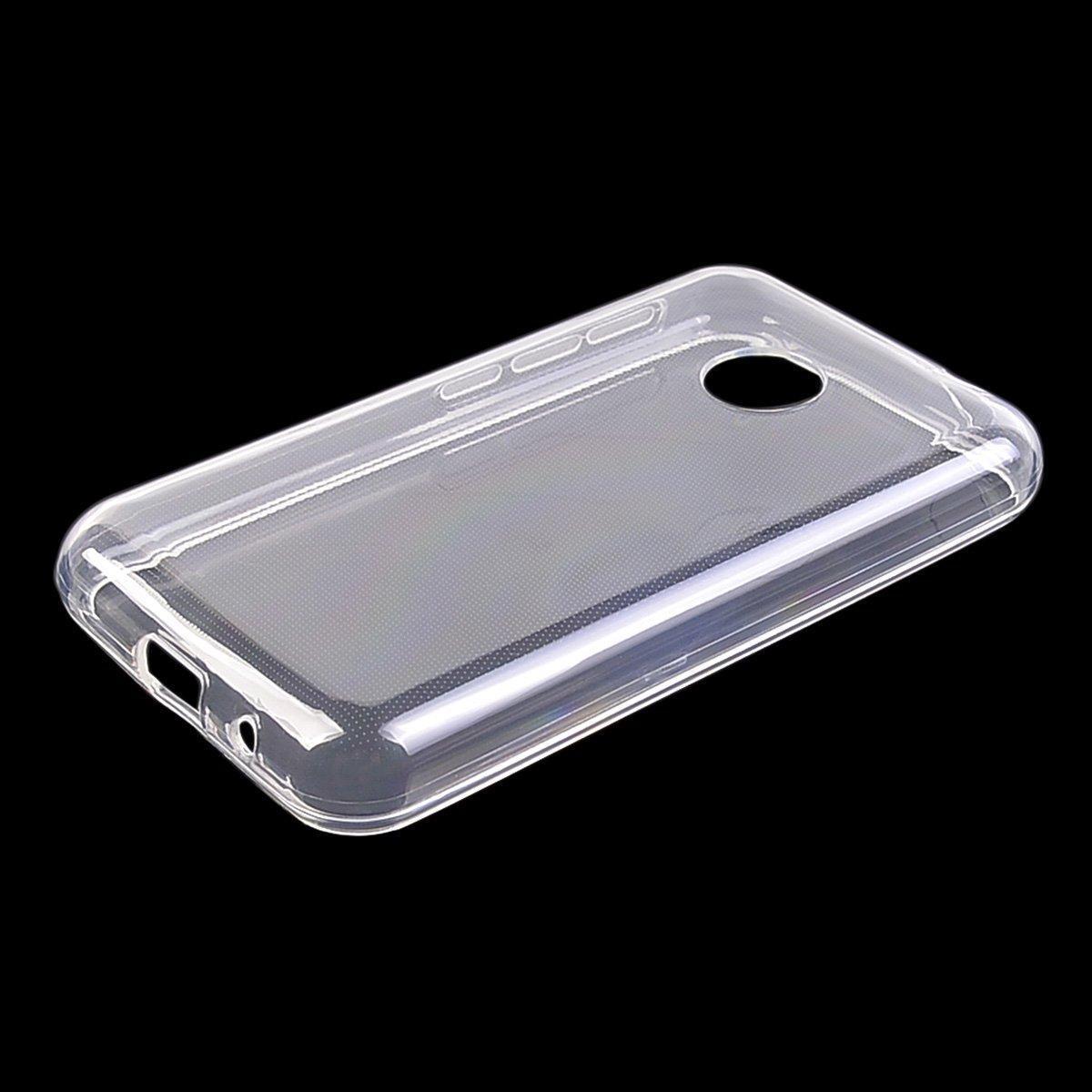 Silikonové pouzdro Ultra Thin 0,5 mm na mobil Vodafone Smart First 7 průhledné (Silikonový kryt či obal na mobilní telefon v průhledném provedení Vodafone Smart First 7)