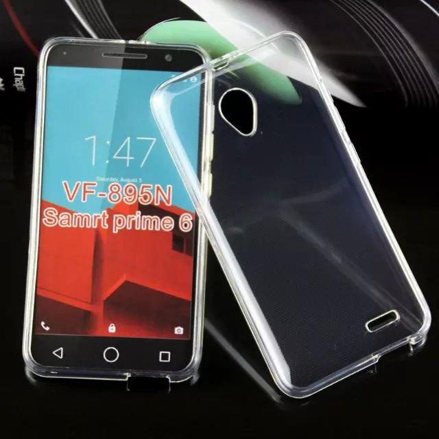 Silikonové pouzdro Ultra Thin 0,5 mm na mobil Vodafone Smart Prime 6 čiré (Silikonový kryt či obal na mobil Vodafone Smart Prime 6)